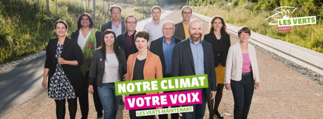 Candidats Verts CN 2019
